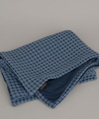 Terre-de-Coton-Denim-Blue-Picquet-Throw1