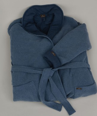 Terre-de-Coton-Denim-Blue-Robe