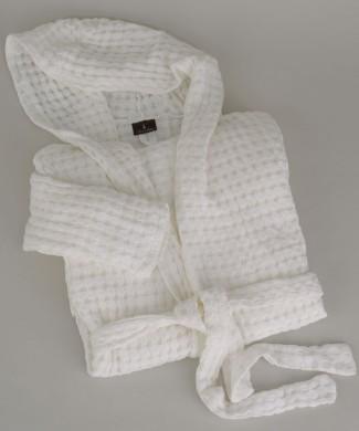 Terre-de-Coton-Soft-Basket-Weave-Robe
